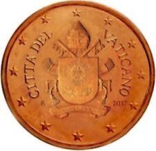 Vatikaan  2017   1 cent  UNC uit de BU  UNC du coffret  Zeldzaam - Extreme rare