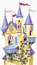 "My Princess Castle Counted Cross Stitch Kit Disney Film 12"" x 19"" Free P&P"
