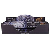 Pack Of 6 Silver Dragon Incense Sticks By Anne Stokes - White Musk Von Elements