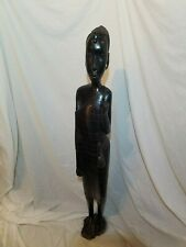 Makonde from Tanzania African carved wooden sculpture