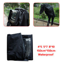 Pro 150*150cm Camera Focus Hood Dark Clothing Camera Wrapping Cover Protector