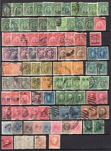 Philippines Old Time Used Accumulation Many 100's See Scans