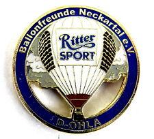 """BALLON Pin / Pins - RITTER SPORT """"BALLONFREUNDE NECKARTAL"""" / D-OHLA [3766]"""