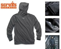 Scruffs Active Work Hoodie Charcoal Marl Grey Warm Jumper Hoody (Sizes M-XL)