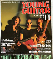 Young Guitar 11/1996 Japan Music Magazine Steve Vai Kiss Van Halen Vinnie Moore