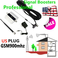 900Mhz GSM 2G/3G/4G Signal Booster Repeater Amplifier Antenna For Cell Phone US