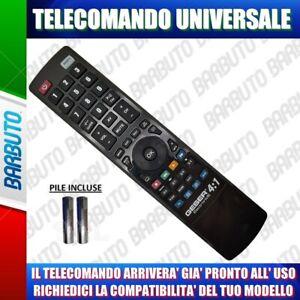 TELECOMANDO PER SCHAUB LORENZ UNIVERSALE - COMUNICACI IL TUO MODELLO TV, DECODER