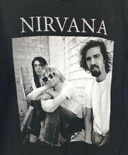 Tultex Mens Nirvana Band Graphic Tee Short Sleeve Shirt Size XL