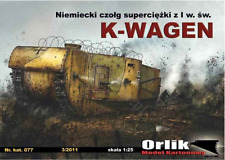 K-WAGEN tank - ORLIK 077 - 1/25 paper model