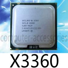 Intel Xeon X3360 2.83 GHz 1333 MHz Quad-Core LGA775 CPU Processor