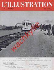 L'illustration n°5155 - 27/12/1941 train Colomb Béchar sahara Algérie Salon Air