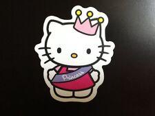 Princess Kitty Aufkleber, Hello Kitty Wasserfester Aufkleber fürs Auto