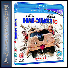 DUMB AND DUMBER TO - Jim Carrey **BRAND NEW BLU-RAY**