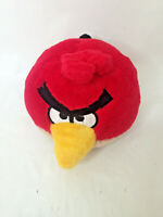 """Angry Birds Red Commonwealth Stuffed Plush Animal Toy 5"""" with Sounds 2010"""