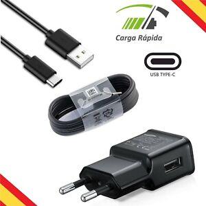 Cargador Rápido Enchufe de Pared Con Cable USB Tipo C Original Samsung