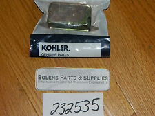 Bolens / Kohler breaker Points cover & Grommet 232535 & 220297 K181,K301,K321