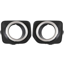 Front Fog Light Lamp Bezel Cover Trim Fit For Land Rover Discovery 4 LR4 2014-16