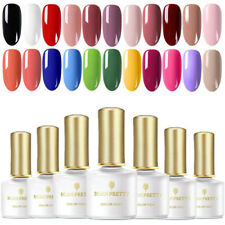 6ml Candy UV Gel Nail Art Polish Soak off  Base Top Coat Born Pretty