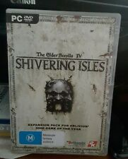 The Elder Scrolls IV - Shivering Isles Expansion -  PC GAME - FREE POST *
