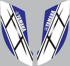 Graphics for 2003-2008 Yamaha YFZ450 YFZ 450 ATV rear fender stickers Retro Blue