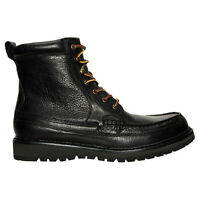 POLO RALPH LAUREN 812570543001 WILLINGCOTT Mn's (M) Black Leather Classic Boots