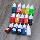 15 colors Epoxy Resin Pigment Liquid Highly Concentrated Epoxy Resin Colorant