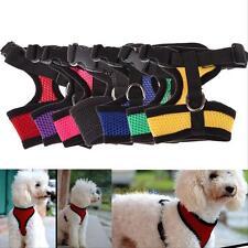 Filhote De Cachorro Dog Pet Controle de malha macia arnês Cãozinho Correia de segurança de gato andar Colete