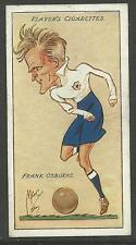 PLAYER'S 1927 FOOTBALL CARICATURES BY 'MAC' F. Osborne Cigarette Card No 27/50