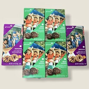 (4x) Girl Scout Thin Mint Cookies And (2x) Samoa Cookies - Sept 2021 Exp Date