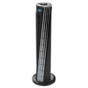 "Vornado 29"" 143 Whole Room Air Circulator Tower Fan, Black"