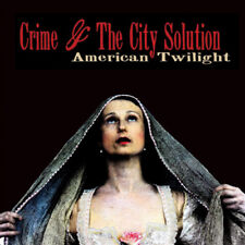 "Crime and the City Solution : American Twilight VINYL 12"" Album with CD 2 discs"