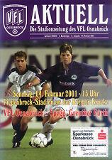 II BL 2000/01 VfL Osnabrück - SpVgg Greuther Fürth, 04.02.2001