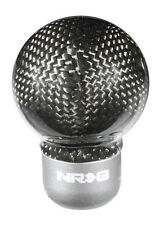 NRG Shift Knob - Semi Round Ball - REAL Carbon Fiber (SK-310BC) Universal