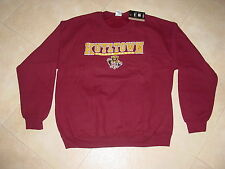 KUTZTOWN University GOLDEN BEARS  Crew Neck  Sweatshirt NEW NWT sz...  LARGE