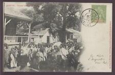 MADAGASCAR 1904 PPC HELVILLE WOMEN NOSSI BE SUPERB PMK