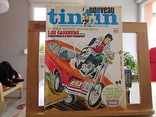 JOURNAL DE TINTIN NOUVEAU N°47 N°187 BE/TBE COUVERTURE LES CASSEURS