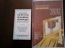 KENMORE SEWING MACHINE MANUAL 117.959