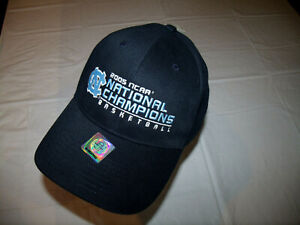 North Carolina Tar Heels 2005 National Champions Basketball Hat Twins NEW w/ Tag