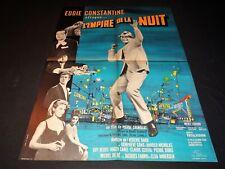 L'EMPIRE DE LA NUIT ! frederic dard ; eddie constantine  affiche cinema  1962