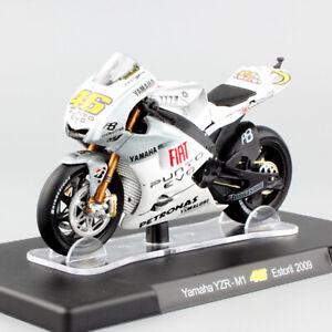 2009 Rossi #46 motoGP motorcycle model bike toy 1/18 scale YAMAHA YZR-M1 Estoril