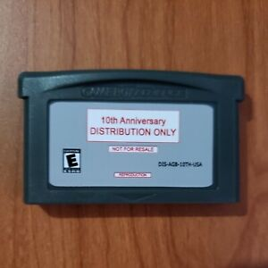 Pokemon Event Distribution GBA Cart - **10th Anniversary** - Gen III FR/LG/R/S/E