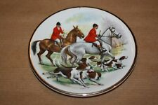 """Hunting Scene Small Plate - Harry Hancock - """"Rydalia Ware"""" - Vintage Collectable"""