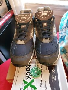 NEW BALANCE M991GNN  ( KITH OLIVE ) MADE IN UK. ( WORN ONCE )  SIZE 10D