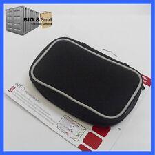 Nintendo 3DS DS/XL DS DS LiteSchutz Tasche Hülle - wasserabweisend - schwarz