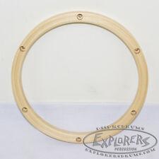 """Wood Drum Hoop 10"""" 6 Lug 24 ply Wood Rim THM106H"""