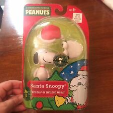 A Charlie Brown Christmas Peanuts Santa Snoopy Snap on Santa Suit & Hat