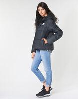 NIKE Sportswear NSW Womens Black Synthetic Fill Insulated HD Coat Jacket