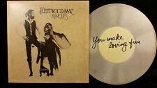 Fleetwood Mac Rumours Postcard 1977 Vintage Rare Never used
