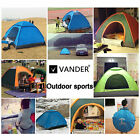 Portable Light Hiking Camping Automatic Pop up Family Tent Bag 4 Person Outdoor
