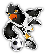 "Hawk Soccer Player Car Bumper Sticker Decal 4"" x 5"""